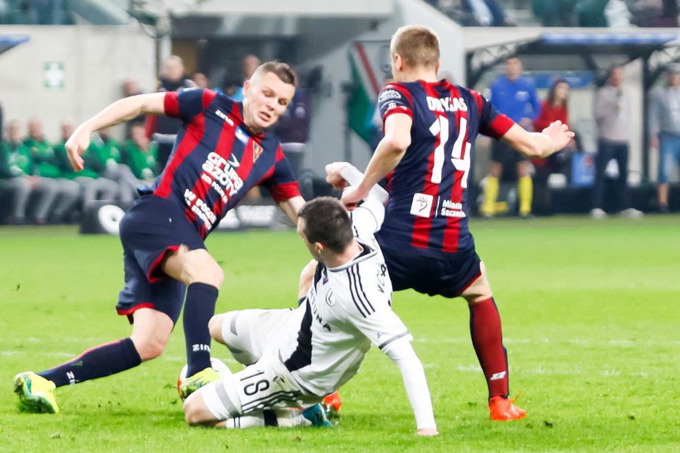 Legia Warszawa 2-0 Pogoń Szczecin - fot. Piotr Galas/wiadomosci24.pl (zdjęcie 42 z 51)
