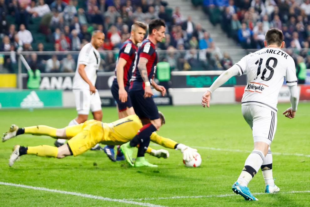 Legia Warszawa 2-0 Pogoń Szczecin - fot. Piotr Galas/wiadomosci24.pl (zdjęcie 46 z 51)