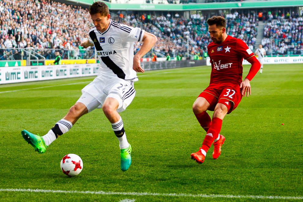 Legia Warszawa 1-1 Wisła Kraków - fot. Piotr Galas/wiadomosci24.pl (zdjęcie 31 z 52)