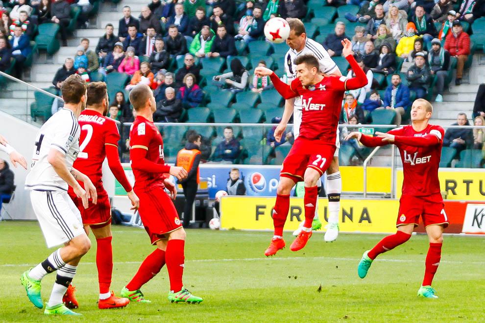 Legia Warszawa 1-1 Wisła Kraków - fot. Piotr Galas/wiadomosci24.pl (zdjęcie 33 z 52)