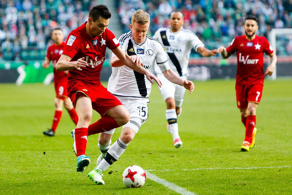Legia Warszawa 1-1 Wisła Kraków - fot. Piotr Galas/wiadomosci24.pl (zdjęcie 36 z 52)