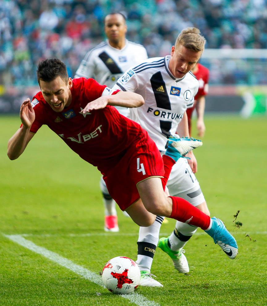 Legia Warszawa 1-1 Wisła Kraków - fot. Piotr Galas/wiadomosci24.pl (zdjęcie 38 z 52)