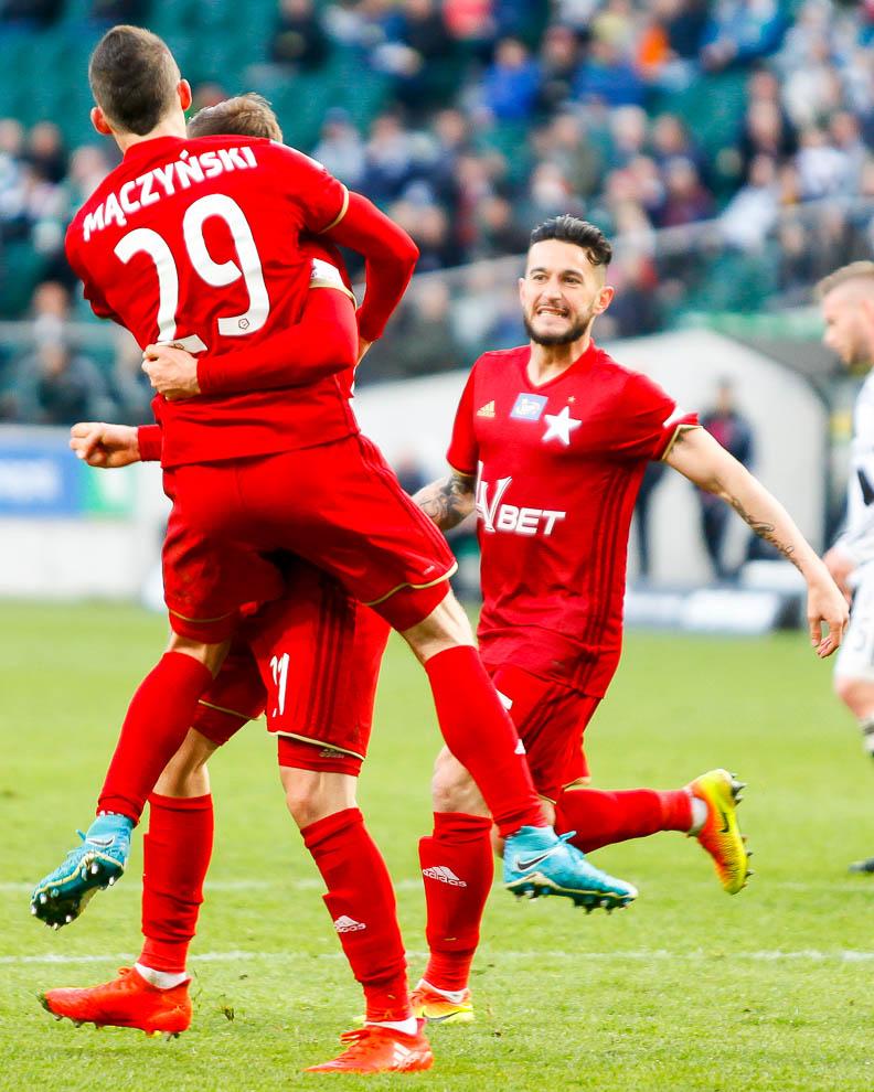 Legia Warszawa 1-1 Wisła Kraków - fot. Piotr Galas/wiadomosci24.pl (zdjęcie 47 z 52)