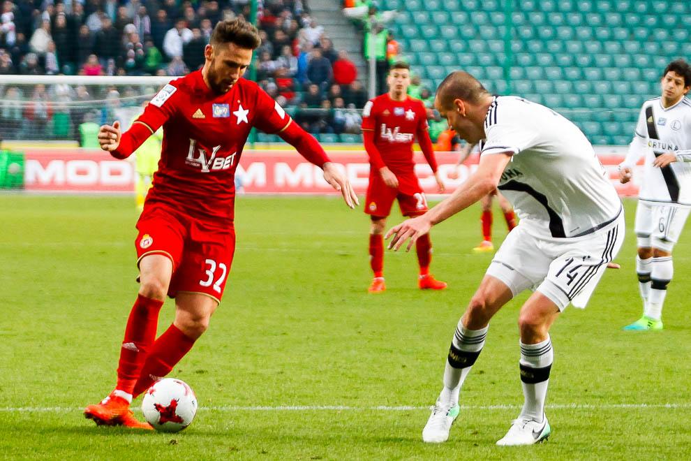 Legia Warszawa 1-1 Wisła Kraków - fot. Piotr Galas/wiadomosci24.pl (zdjęcie 49 z 52)