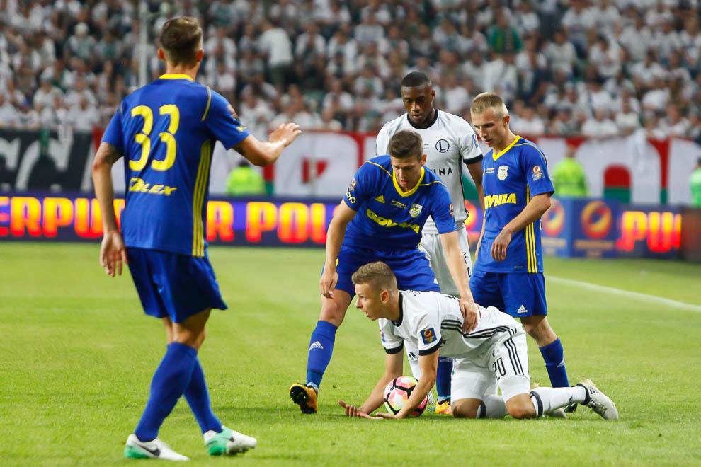 Legia Warszawa 1-1 k. 3-4 Arka Gdynia - fot. Piotr Galas/wiadomosci24.pl (zdjęcie 51 z 97)