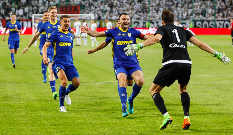 Legia Warszawa 1-1 k. 3-4 Arka Gdynia - fot. Piotr Galas/wiadomosci24.pl (zdjęcie 68 z 97)
