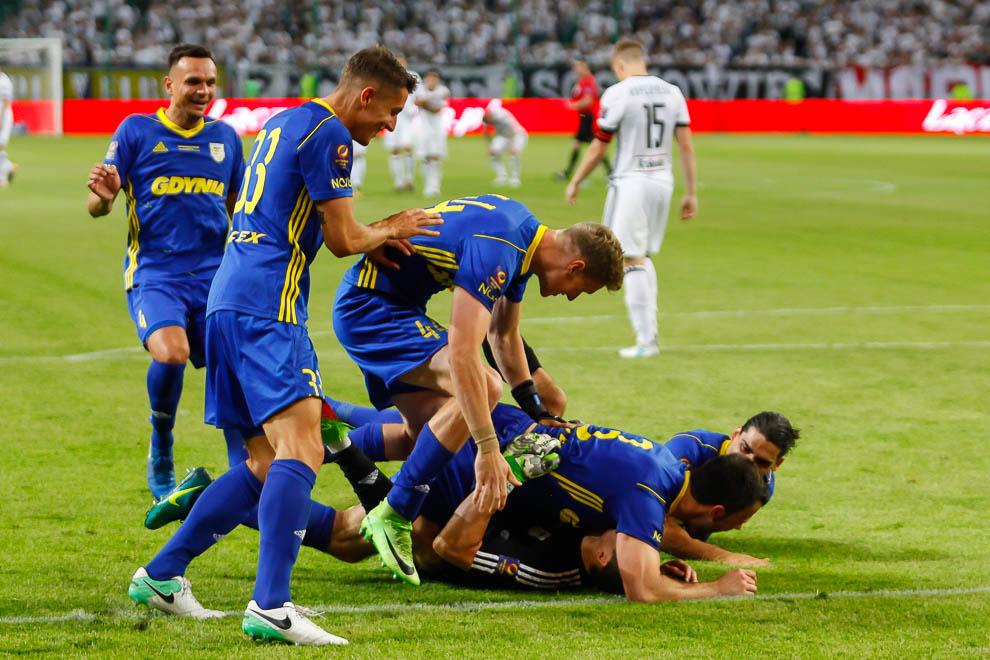 Legia Warszawa 1-1 k. 3-4 Arka Gdynia - fot. Piotr Galas/wiadomosci24.pl (zdjęcie 70 z 97)