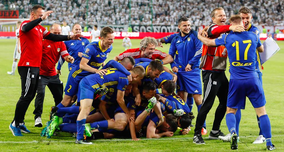 Legia Warszawa 1-1 k. 3-4 Arka Gdynia - fot. Piotr Galas/wiadomosci24.pl (zdjęcie 71 z 97)