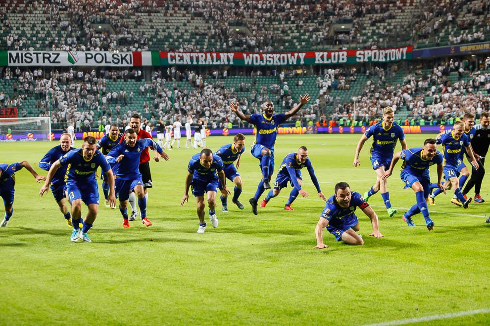 Legia Warszawa 1-1 k. 3-4 Arka Gdynia - fot. Piotr Galas/wiadomosci24.pl (zdjęcie 72 z 97)