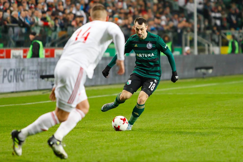 Legia Warszawa 1-0 Górnik Zabrze - fot. Piotr Galas (zdjęcie 12 z 41)