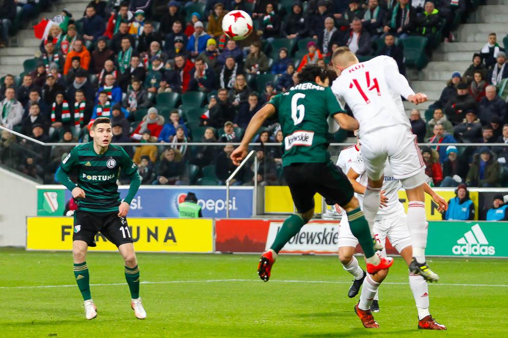 Legia Warszawa 1-0 Górnik Zabrze - fot. Piotr Galas (zdjęcie 15 z 41)