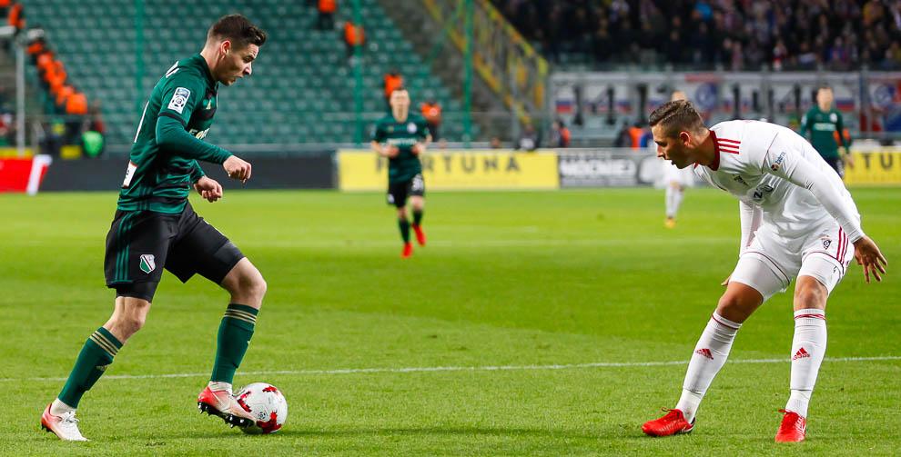 Legia Warszawa 1-0 Górnik Zabrze - fot. Piotr Galas (zdjęcie 16 z 41)