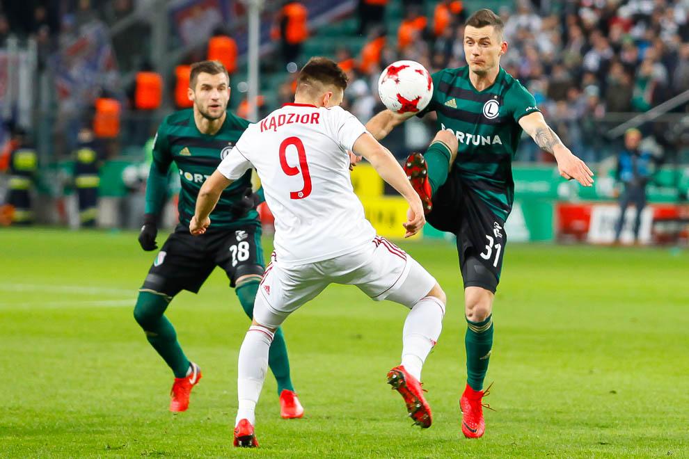 Legia Warszawa 1-0 Górnik Zabrze - fot. Piotr Galas (zdjęcie 19 z 41)