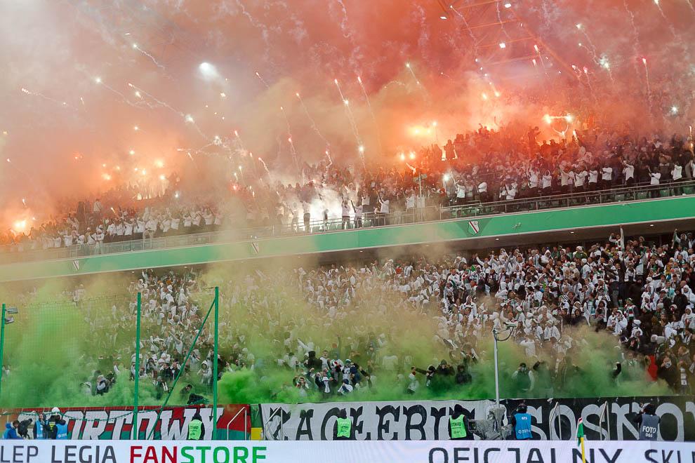 Legia Warszawa 1-0 Górnik Zabrze - fot. Piotr Galas (zdjęcie 32 z 41)