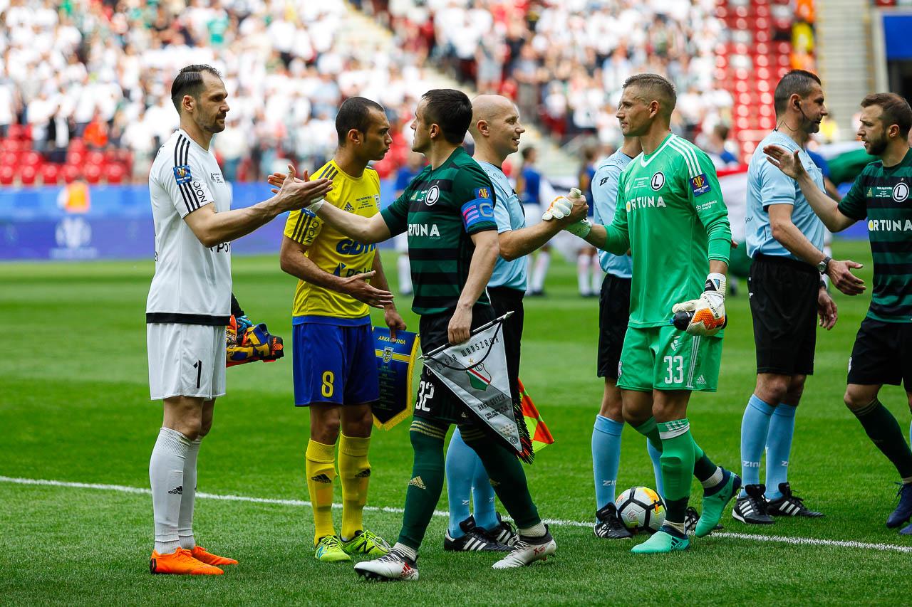 Arka Gdynia 1-2 Legia Warszawa - fot. Piotr Galas (zdjęcie 14 z 142)