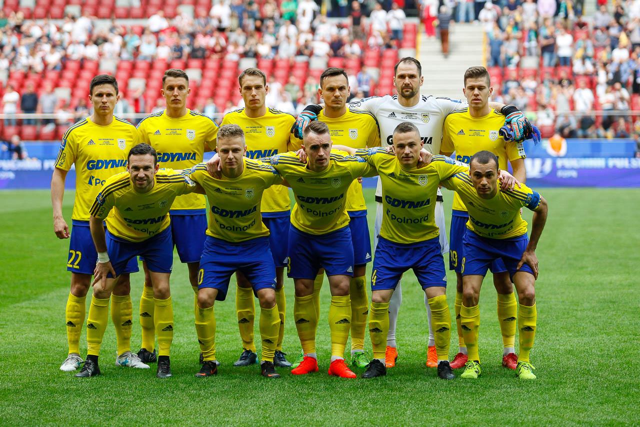 Arka Gdynia 1-2 Legia Warszawa - fot. Piotr Galas (zdjęcie 19 z 142)