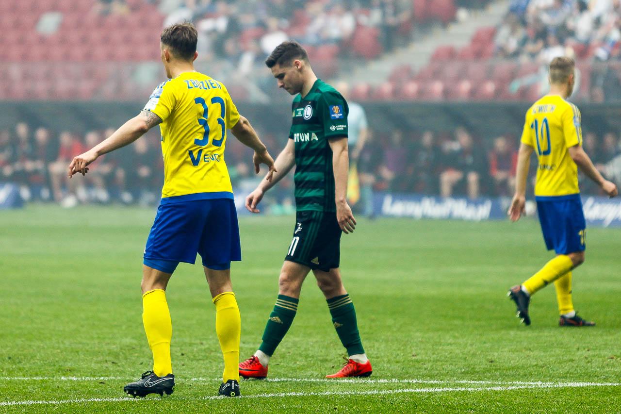 Arka Gdynia 1-2 Legia Warszawa - fot. Piotr Galas (zdjęcie 36 z 142)