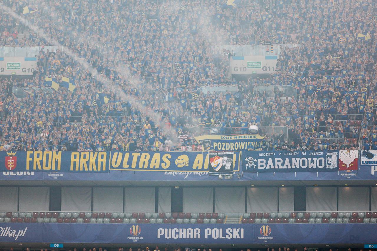 Arka Gdynia 1-2 Legia Warszawa - fot. Piotr Galas (zdjęcie 56 z 142)