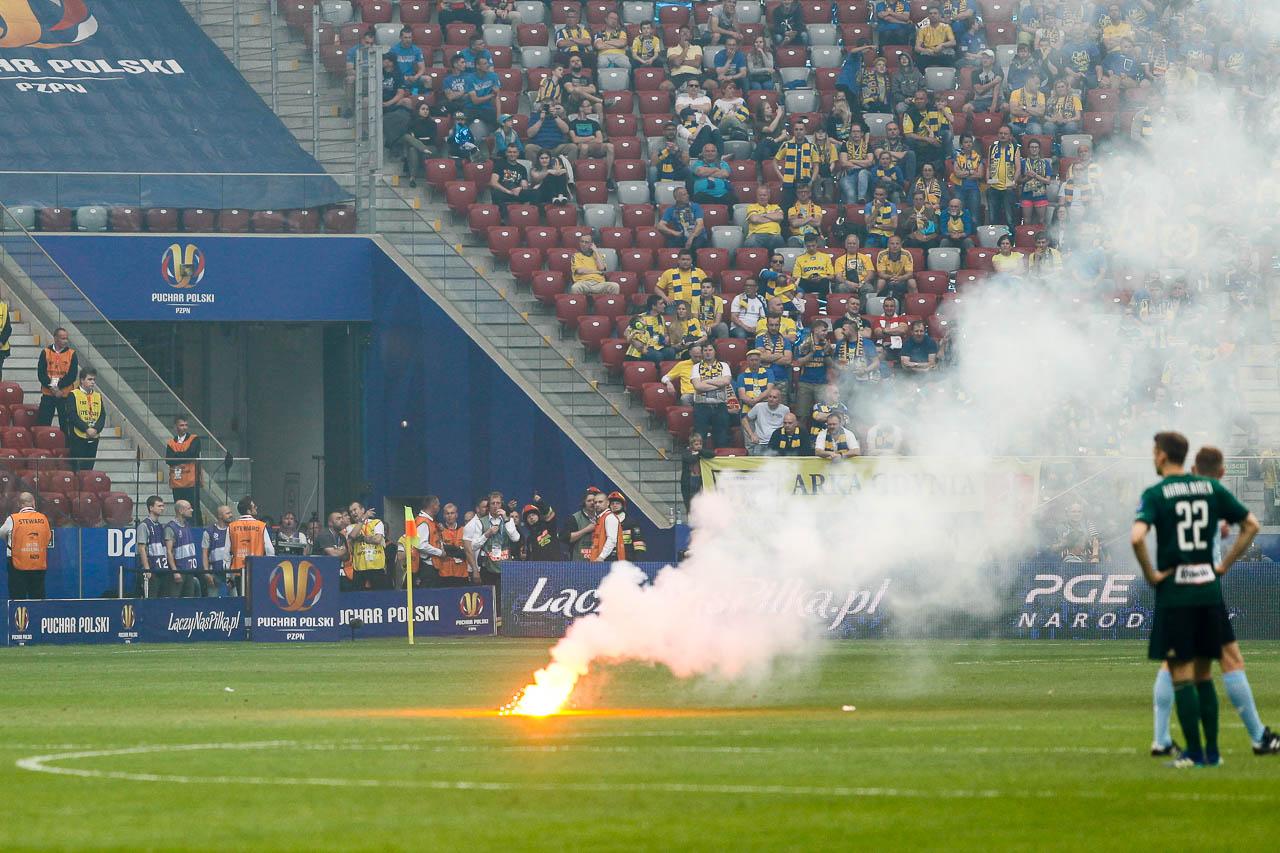 Arka Gdynia 1-2 Legia Warszawa - fot. Piotr Galas (zdjęcie 57 z 142)