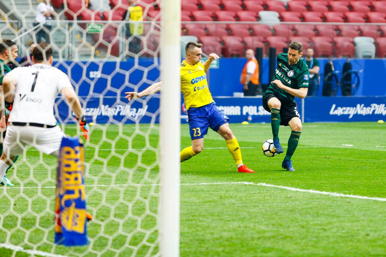 Arka Gdynia 1-2 Legia Warszawa - fot. Piotr Galas (zdjęcie 58 z 142)