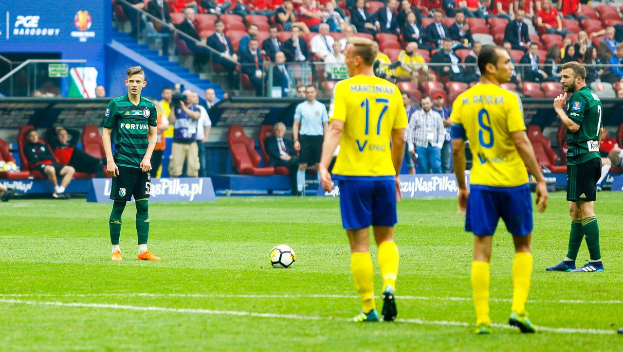 Arka Gdynia 1-2 Legia Warszawa - fot. Piotr Galas (zdjęcie 59 z 142)