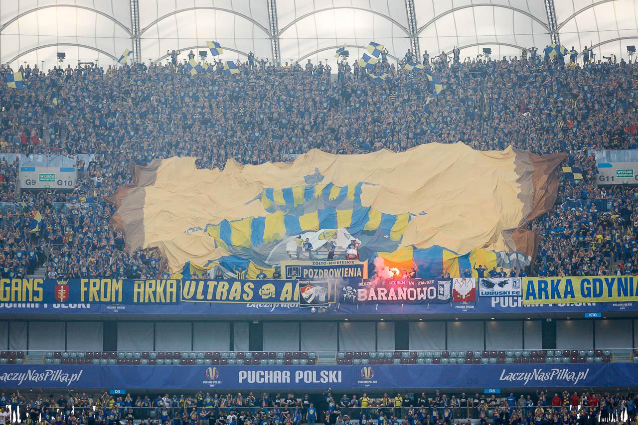 Arka Gdynia 1-2 Legia Warszawa - fot. Piotr Galas (zdjęcie 68 z 142)