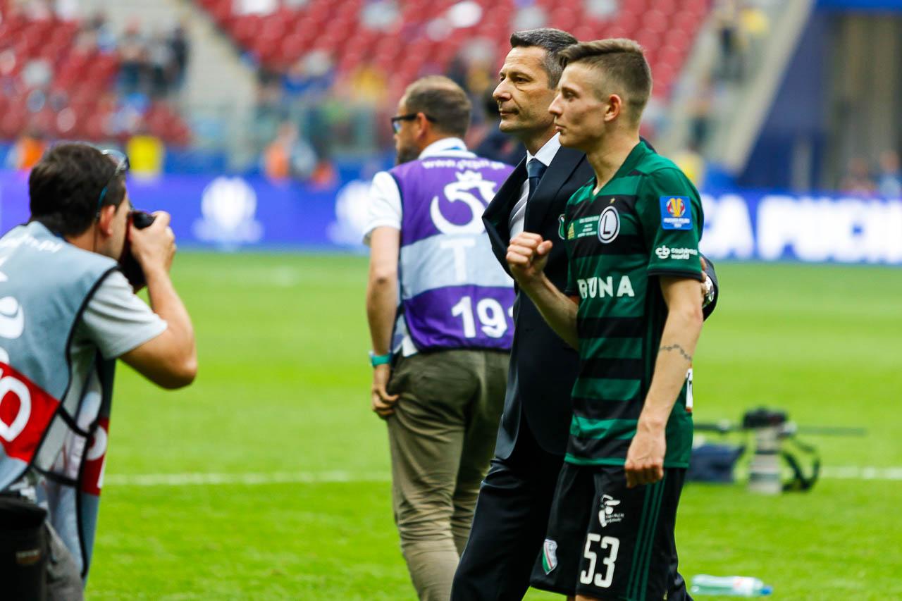 Arka Gdynia 1-2 Legia Warszawa - fot. Piotr Galas (zdjęcie 94 z 142)