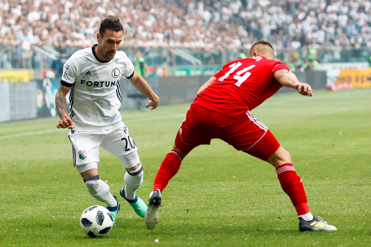 Legia Warszawa 2-0 Górnik Zabrze - fot. Piotr Galas (zdjęcie 10 z 83)