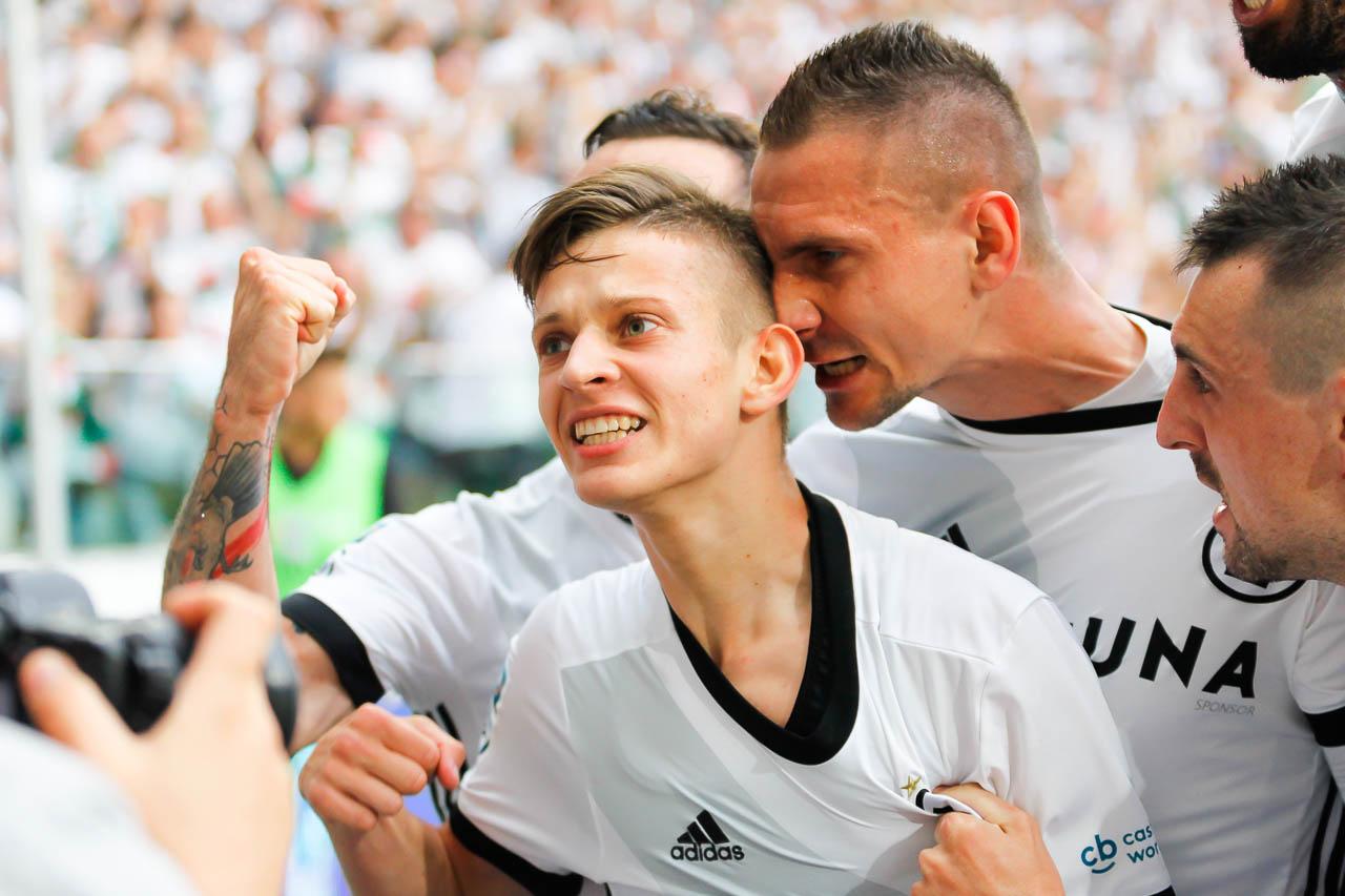 Legia Warszawa 2-0 Górnik Zabrze - fot. Piotr Galas (zdjęcie 36 z 83)