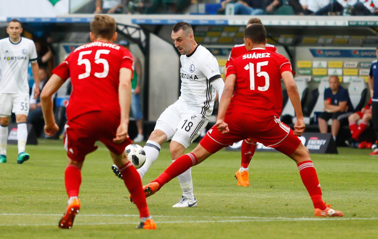 Legia Warszawa 2-0 Górnik Zabrze - fot. Piotr Galas (zdjęcie 45 z 83)