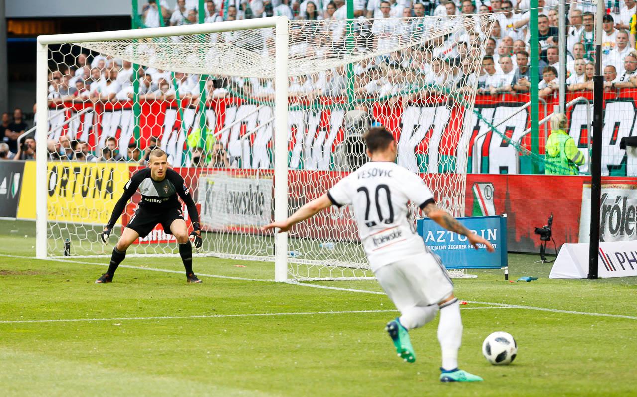 Legia Warszawa 2-0 Górnik Zabrze - fot. Piotr Galas (zdjęcie 49 z 83)