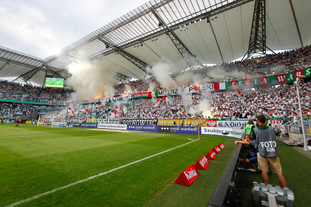 Legia Warszawa 2-0 Górnik Zabrze - fot. Piotr Galas (zdjęcie 56 z 83)