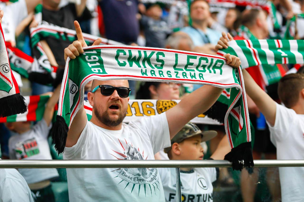 Legia Warszawa 2-0 Górnik Zabrze - fot. Piotr Galas (zdjęcie 60 z 83)