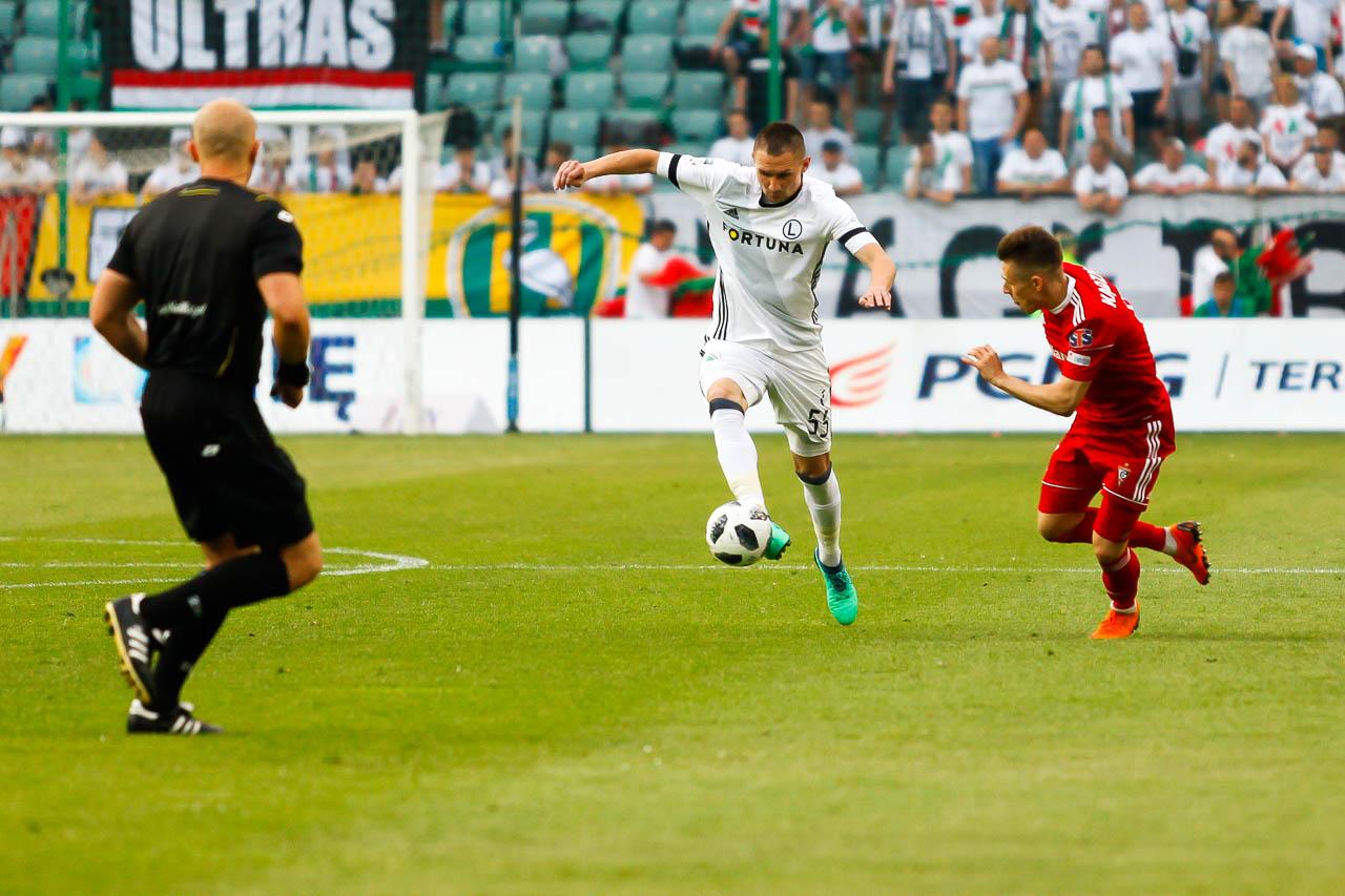 Legia Warszawa 2-0 Górnik Zabrze - fot. Piotr Galas (zdjęcie 62 z 83)