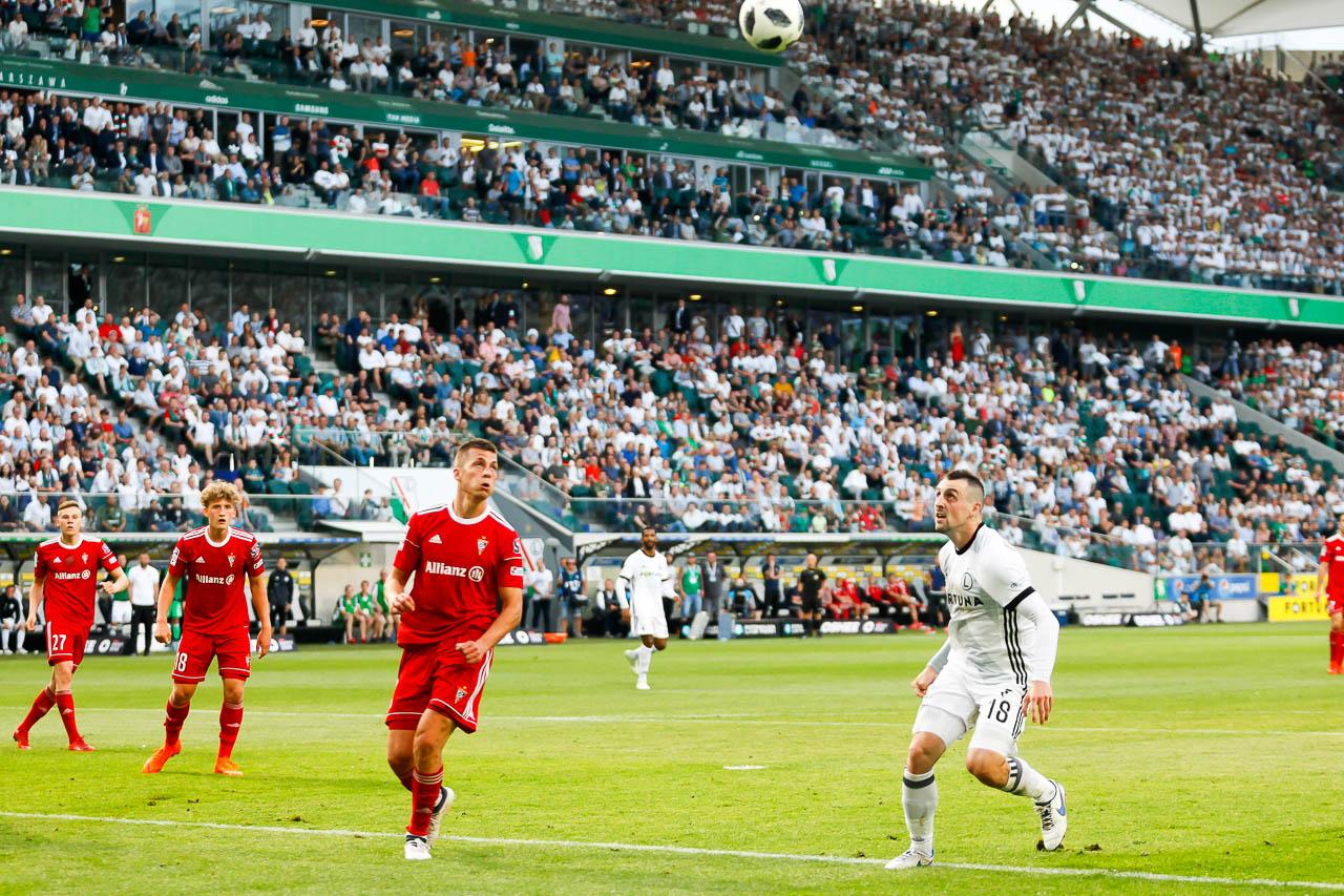 Legia Warszawa 2-0 Górnik Zabrze - fot. Piotr Galas (zdjęcie 71 z 83)