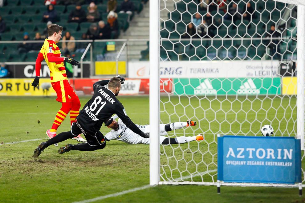 Legia Warszawa 0-2 Jagiellonia Białystok - fot. Piotr Galas (zdjęcie 18 z 72)
