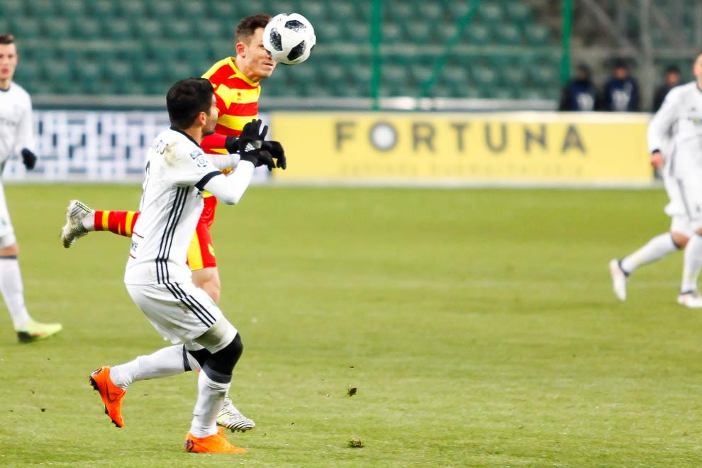 Legia Warszawa 0-2 Jagiellonia Białystok - fot. Piotr Galas (zdjęcie 27 z 72)