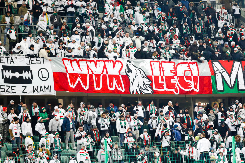 Legia Warszawa 0-2 Jagiellonia Białystok - fot. Piotr Galas (zdjęcie 3 z 72)