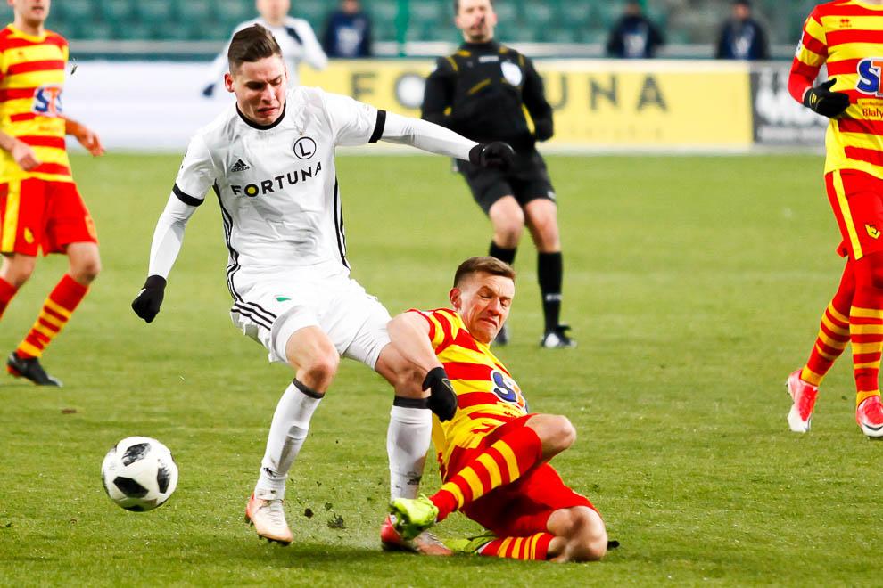 Legia Warszawa 0-2 Jagiellonia Białystok - fot. Piotr Galas (zdjęcie 30 z 72)