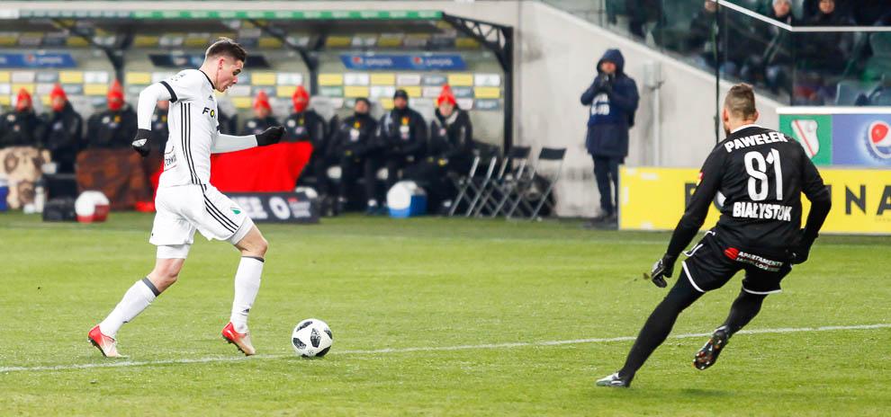 Legia Warszawa 0-2 Jagiellonia Białystok - fot. Piotr Galas (zdjęcie 31 z 72)