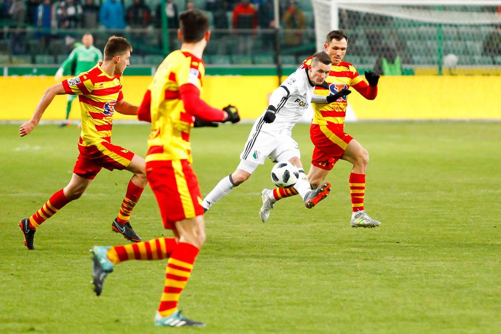 Legia Warszawa 0-2 Jagiellonia Białystok - fot. Piotr Galas (zdjęcie 33 z 72)