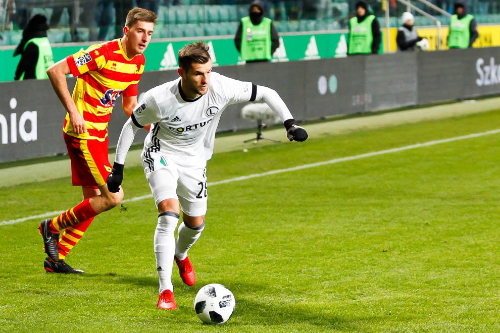 Legia Warszawa 0-2 Jagiellonia Białystok - fot. Piotr Galas (zdjęcie 35 z 72)