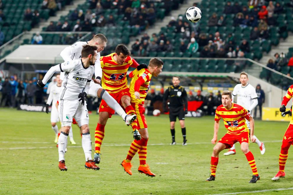 Legia Warszawa 0-2 Jagiellonia Białystok - fot. Piotr Galas (zdjęcie 38 z 72)