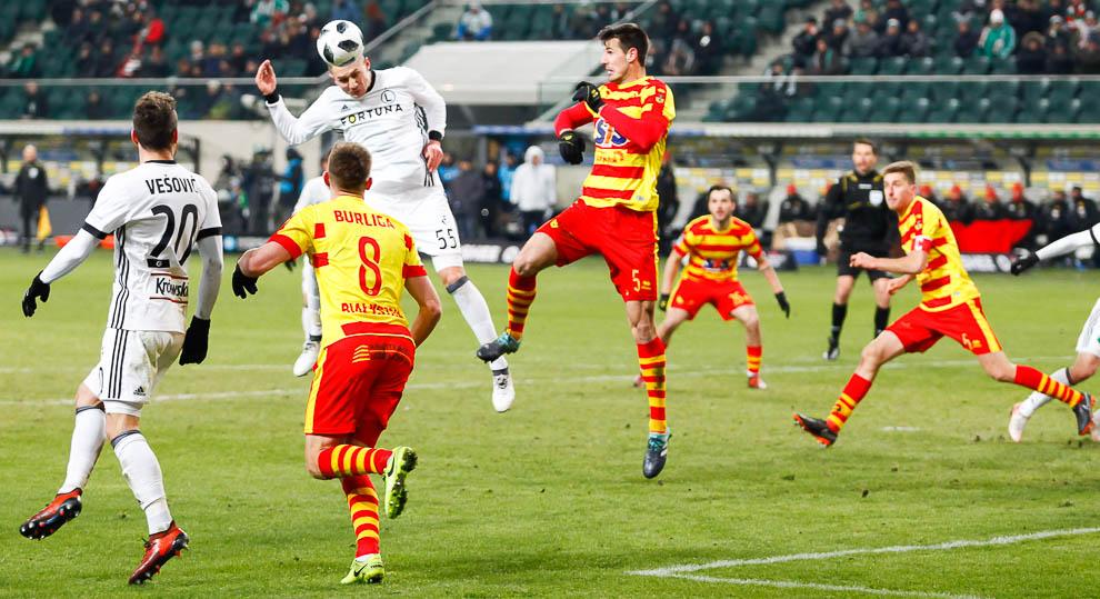 Legia Warszawa 0-2 Jagiellonia Białystok - fot. Piotr Galas (zdjęcie 40 z 72)