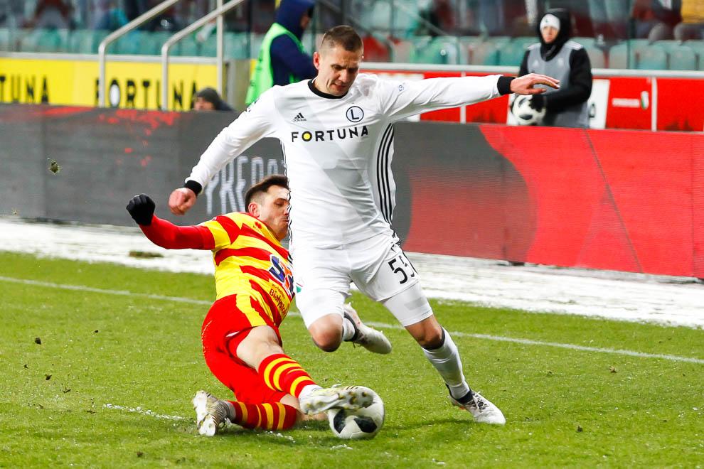 Legia Warszawa 0-2 Jagiellonia Białystok - fot. Piotr Galas (zdjęcie 47 z 72)