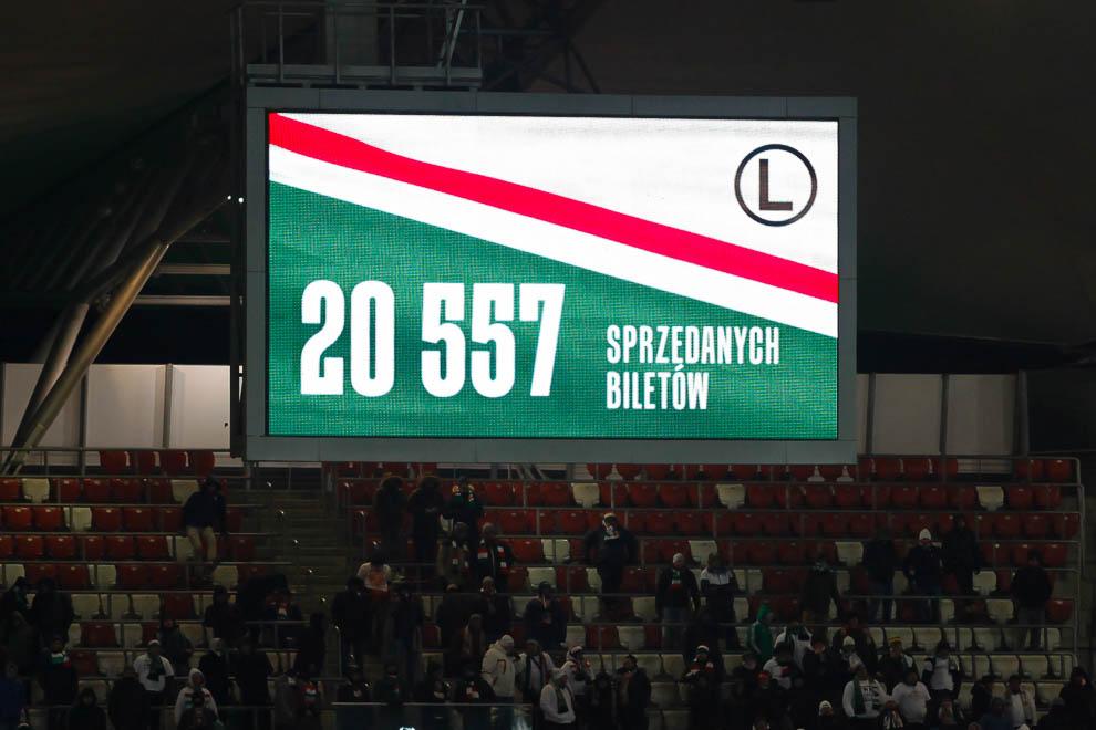 Legia Warszawa 0-2 Jagiellonia Białystok - fot. Piotr Galas (zdjęcie 53 z 72)