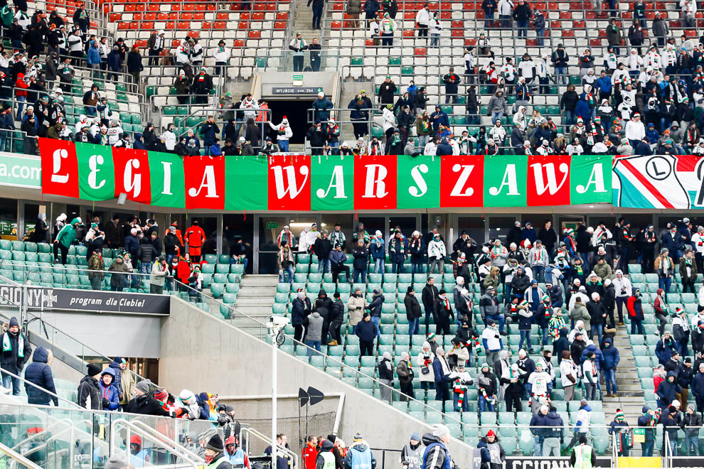 Legia Warszawa 0-2 Jagiellonia Białystok - fot. Piotr Galas (zdjęcie 6 z 72)