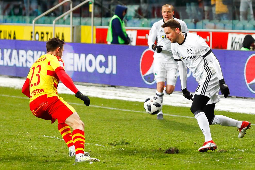 Legia Warszawa 0-2 Jagiellonia Białystok - fot. Piotr Galas (zdjęcie 60 z 72)