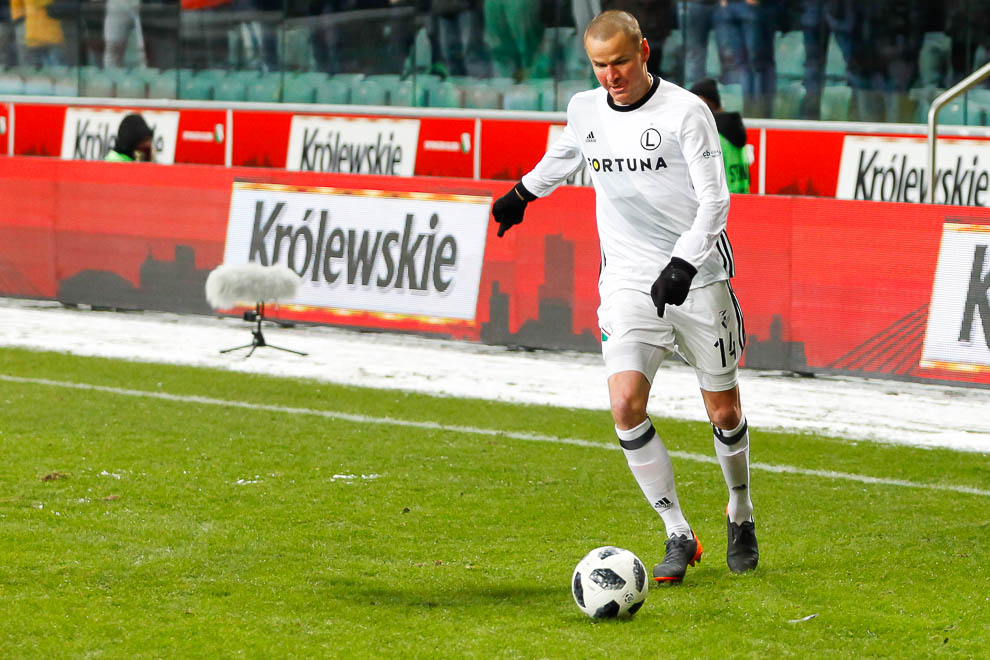 Legia Warszawa 0-2 Jagiellonia Białystok - fot. Piotr Galas (zdjęcie 61 z 72)