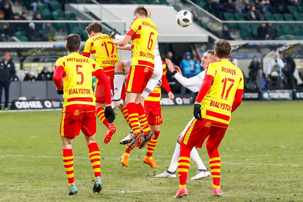Legia Warszawa 0-2 Jagiellonia Białystok - fot. Piotr Galas (zdjęcie 63 z 72)